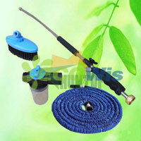 Expandable Garden Hose with Lance Spray Nozzle Kit (HT1079) pictures & photos