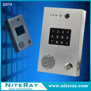 Remote Control Intercom Door Phone / Door Access Control Software / PBX Door Phone