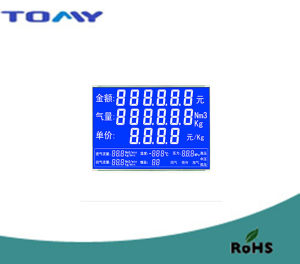 Stn Transmissive LCD Display for Gas Dispenser