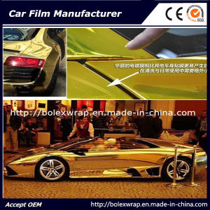 Glossy Chrome Smart Car Vinyl Wrap Vinyl Film for Car Wrapping Car Wrap Vinyl pictures & photos