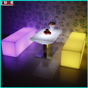 Plastic with Metal Furniture Play Furniture High Table pictures & photos
