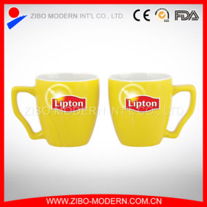 Lipton Ceramic Mug with Custom Printing Picture pictures & photos