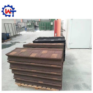 Construction Material Colorful Stone Coated Metal Shingle Roof Tile pictures & photos