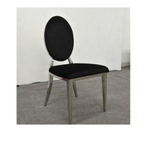 Groovy Cheap Modern Stainless Steel Oval Round Back Dining Chair Uwap Interior Chair Design Uwaporg