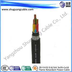 Medium Voltage/XLPE Insulated/PVC Sheathed/ Electrical/Power Cable pictures & photos