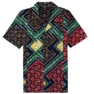 507c8326aca274 China Custom Dashiki Clothes Ankara Shirts for Men National Wind ...