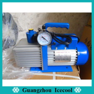 1HP Double Stage Vacuum Pump Vp2100 with Gauge and Valve for R410A/R407c