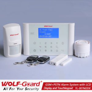 Best! New GSM+PSTN Alarm System with LCD Display and Touch Keypad (YL007M2DX) pictures & photos