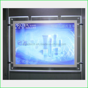 Crystal LED Light Box for Poster Display pictures & photos