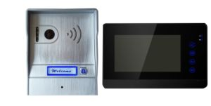 7 Inch Handsfree 2 Wires Color Video Doorphone