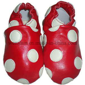 Cilcle Pictures Baby Leather Shoes 8800