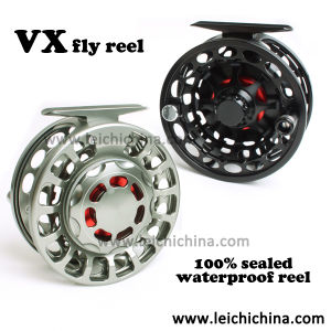 Large Drag Knob 100% Waterproof Machine Cut Fly Reel