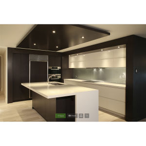 2016 Hot Selling Kitchen Cabinet Modern Modular Kitchen Furniture Lacquer Wall Cabinet Kuche Kabinett Lack Im Trend Laca Mueble