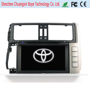 Two DIN Universal Car DVD Player for Toyota Prado 2014