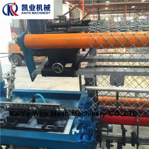 Full Automatic Diamond Mesh Fence Machine pictures & photos