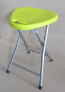 Superb Small Flexible Folding Chair Plastic Stool With Steel Metal Frame Cjindustries Chair Design For Home Cjindustriesco