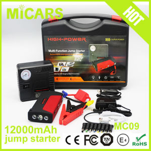 2016 Factory Supply Portable Car Jump Starter Multi-Function Power Bank