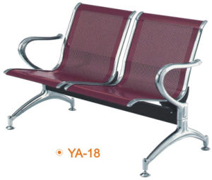 Metal Steel 2 Seaters Price Airport Chair Waiting Chairs (YA-18) pictures & photos