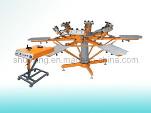 Manual T-Shirt Printing Machine, Textile Screen Printing Machine (SP-6C6SM) pictures & photos