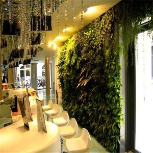 cafe/restaurant indoor decoration artificial plants wall (sj) Artificial Plants Indoor Decoration