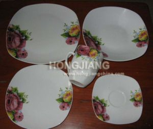 20PCS Dinner Set Square pictures & photos