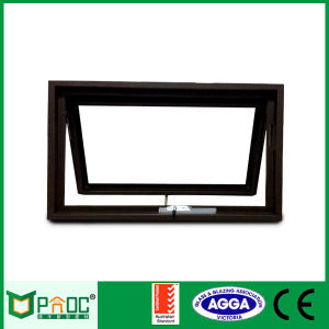 Aluminum Chain Winder Awning Windows with Double Glass As2047 pictures & photos