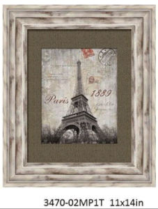 White Distressed PS Photo Frame