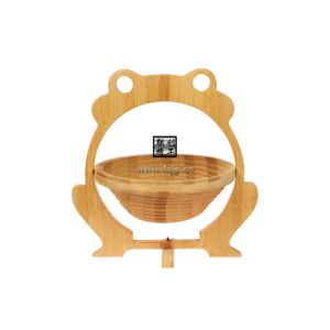 Fruit Basket for Bamboo/Crafts/Souvenir/Foldable/Folding/Promotional Gifts/Decoration/Homeware (LC-A001B)