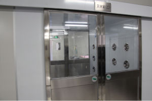 High-Quality Material Airshower Between Cleanroom and Non-Cleanroom