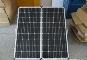 160W Folding Solar Panel for Camping with Caravan pictures & photos