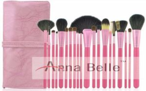 Free Sample Makeup Cosmetic 20PCS Makeup Brush Set with Belt, Price of Makeup Kit