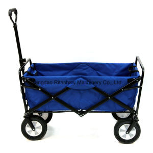 Garden Wagon Cart Folding Trolley Lightweight Gardening Sporting