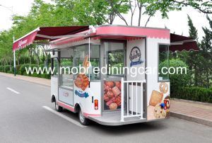 Baking Food Truck/Food Cart with Beautiful Awning and Shelter pictures & photos