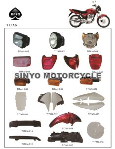 Popular Hot Sell Japanese Titan Motorcycle Body Part pictures & photos