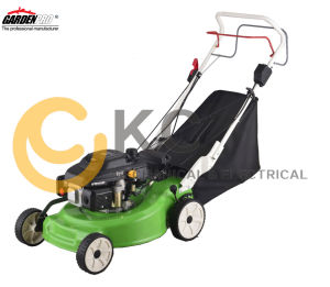 Self-Propelled Lawnmower in Gasoline with Battery Start, 4 in 1 Function (KCL20SD-DIY)