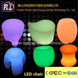 Bar Furniture LED Lighted Magic Small Tripod Stools pictures & photos