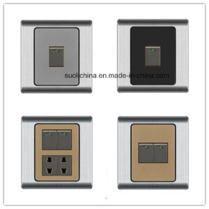 Pk19 Series Wall Switch with Different Color and Design pictures & photos
