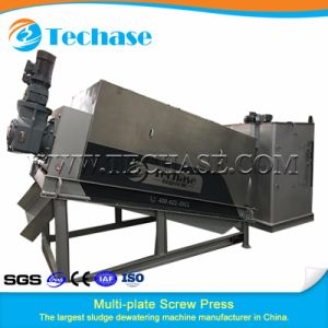Automatic Screw Filter Press Sludge Dehydrator Machine pictures & photos