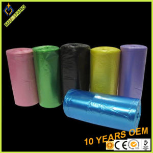 Wholesale Scent Colored on Roll HDPE Plastic Waste Bag