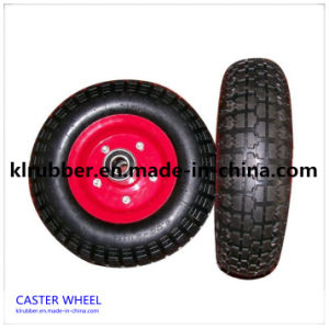 3-8 Inch Rubber Caster Rubber Caster Wheels pictures & photos