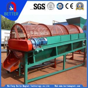 Sh Rotary Trommel Drums Sieve/ Screening Equipment for Wet and Sticky Materials/Heavy Duty Construction Municipal Solid Waste Processing/Sand Crushing Plant