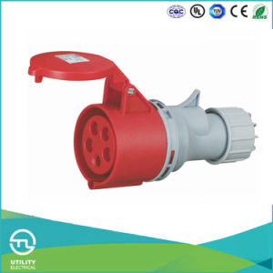 Utl Uz-5 Industrial Plug Plastic Connector Socket 16A 5pin 400V pictures & photos