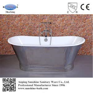 Hot Sales Freestanding Cast Iron Skirted Bathtub Sw-1002A