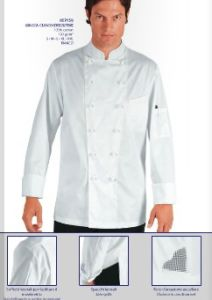 Chef Uniform, Long Sleeve White Chef Uniform --Chef Jacket--Ptsh-CH03 pictures & photos