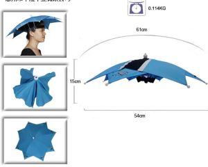 15inch Outdoor Fishing Hat Umbrella pictures & photos