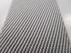 40mm Grey Twill Nylon Webbng for Garment&Accessories pictures & photos