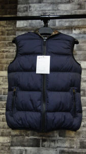 Winter Waistcoat Man Vest Hoody Jacket High Quality Windproof pictures & photos