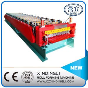 Lower Cost Trapezoidal Double Sheet Forming Machine pictures & photos
