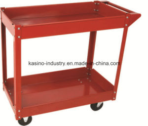 Hot Sales 100kgs Two-Layer Steel Service Trolley/Service Cart with Low Price pictures & photos