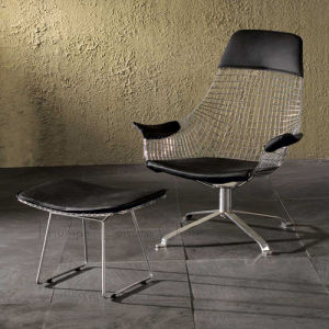 Wire Lounge Chair (TC-0174M)